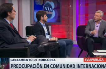 Profesor del CERI discutió sobre la actualidad internacional en programa de TV