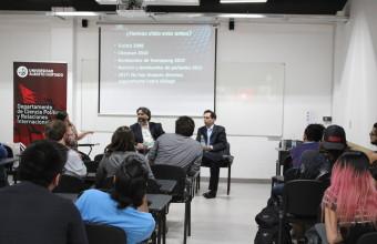 Fernando Schmidt, Profesor e Investigador CERI, participa en charla de U. Alberto Hurtado