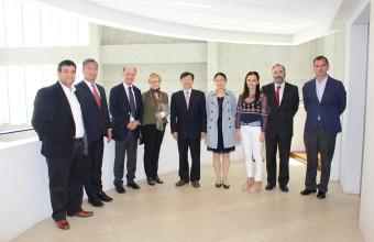 Académicos de la Universidad de Tsinghua discuten sobre Iniciativa OBOR en la UDD