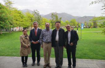 Delegación de la Universidad de Nankai visita la UDD