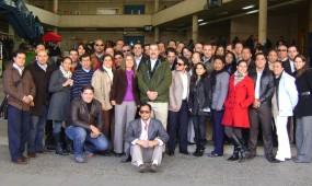 Alumnos ecuatorianos invitados por la Facultad de Gobierno