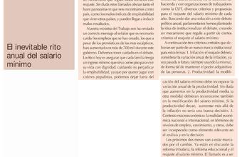 Columna de opinión, diputado y docente Facultad de Gobierno, Ernesto Silva