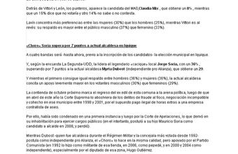 Encuesta La Segunda-UDD: Así parte la carrera municipal en comunas decisivas