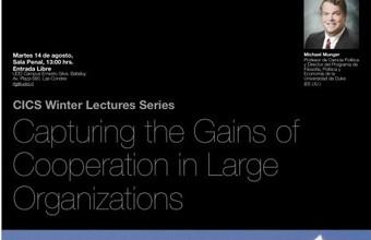 CICS Winter Lectures Series: Michael Munger en la UDD