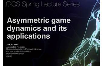 CICS Spring lectures Series trae a Yuzuru Sato