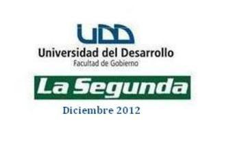 Encuesta Telefónica UDD-La Segunda (DICIEMBRE 2012)