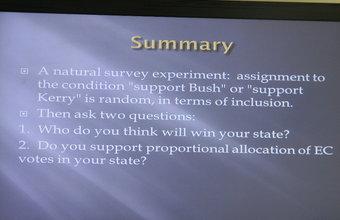 Michael Munger ofrece charla en el contexto del seminario de investigación