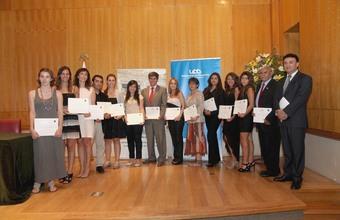 Ceremonia de titulación Diplomado de Estudios Intenacionales