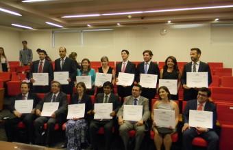 Ceremonia de graduación del Magíster en Políticas Públicas de la Universidad del Desarrollo.