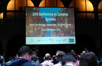CICS participa en Conferencia de Sistemas Complejos, CCS