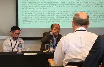 Investigadores del CPP presentan artículo en la 2018 Adam Smith Chile Conference