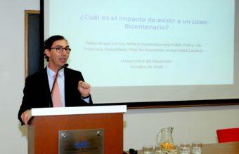 Subsecretario de Educación participó en presentación de estudio UDD sobre Liceos Bicentenario