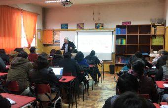 Facultad de Gobierno lanzó en Lebu Diplomado en Convivencia Escolar