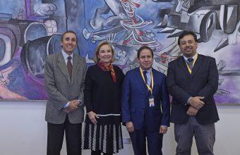 Primera Dama recibe a representantes de CIPEM UDD-Los Héroes
