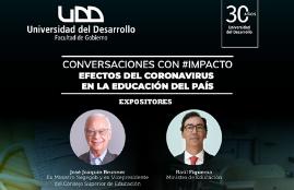 Conversaciones con impacto junto al ministro Raúl Figueroa y José Joaquín Brunner: Efectos del Coronavirus en la educación del país
